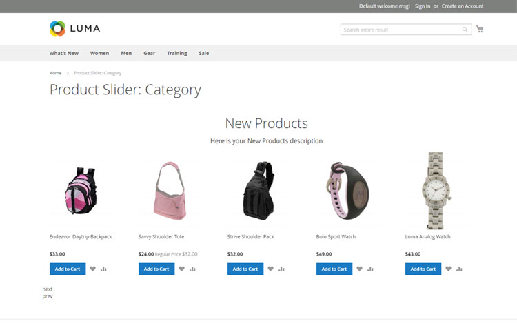 magento 2 product slider insert anywhere