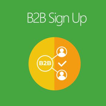 Magento 2 B2B Signup extension