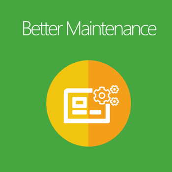 Magento 2 Better Maintenance extension