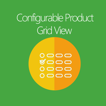 Configurable Product Grid View