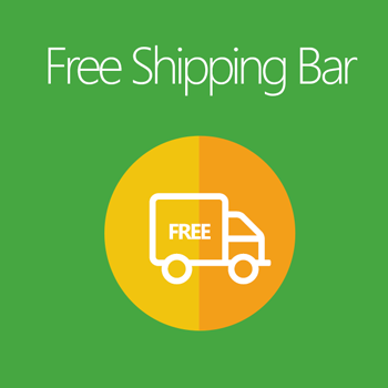 Magento 2 Free Shipping Bar Extension
