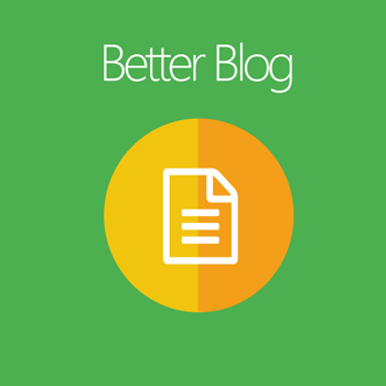 Magento 2 Better Blog extension
