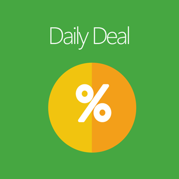 Magento 2 Daily Deal extension