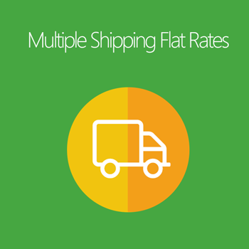 Multiple Shipping Flat Rates