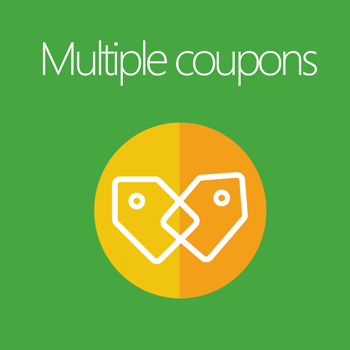Magento 2 Multiple Coupons extension