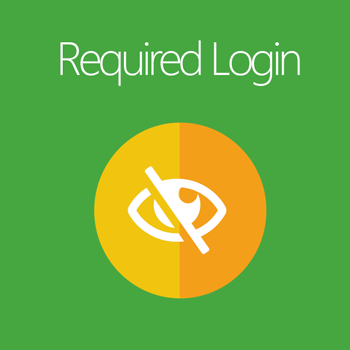 Magento 2 Required Login extension