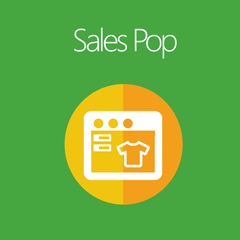 Magento 2 Sales Pop extension