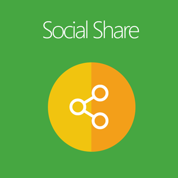Magento 2 Social Share extension