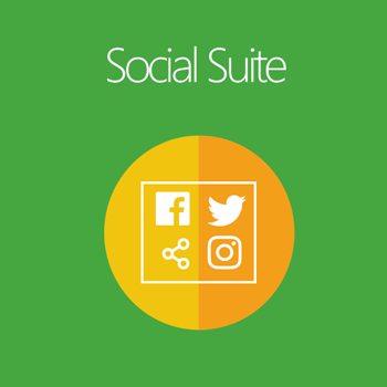 Magento 2 Social Suite extension