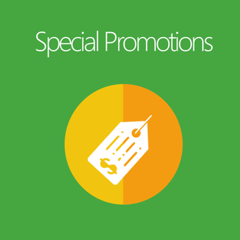 Magento 2 Special Promotions extension