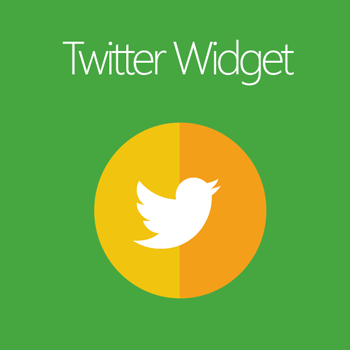 Magento 2 Twitter Widget extension