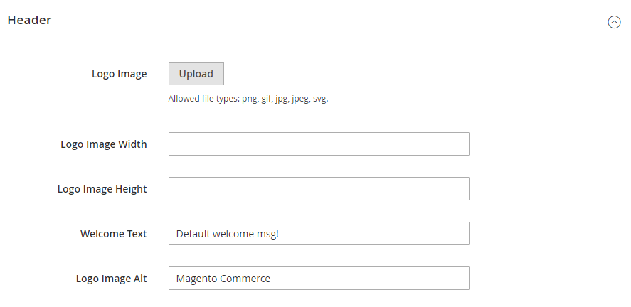 How to Change Welcome Message Header