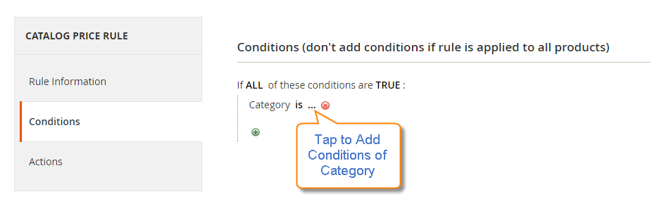 How to Create a Catalog Price Rule Conditions
