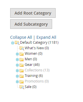 How to Create a New Root Category Category Tree