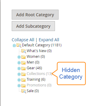 How to Hide Categories Hidden Category