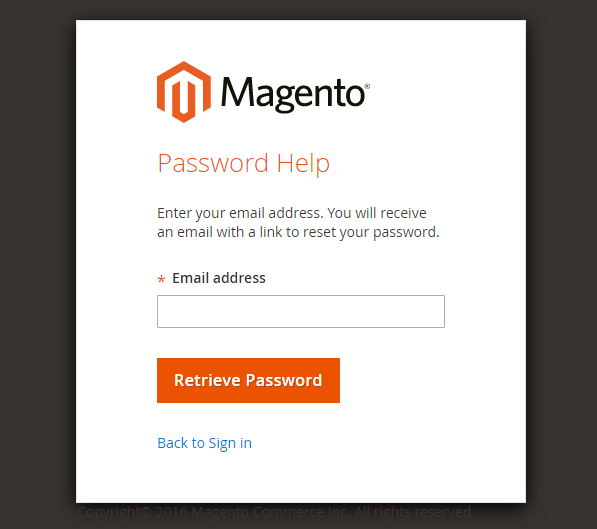 How to reset admin password Magento 2 Forgot Password