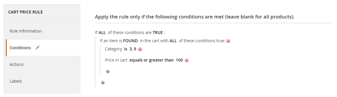 How to setup Discount with Minimum Purchase Conditions