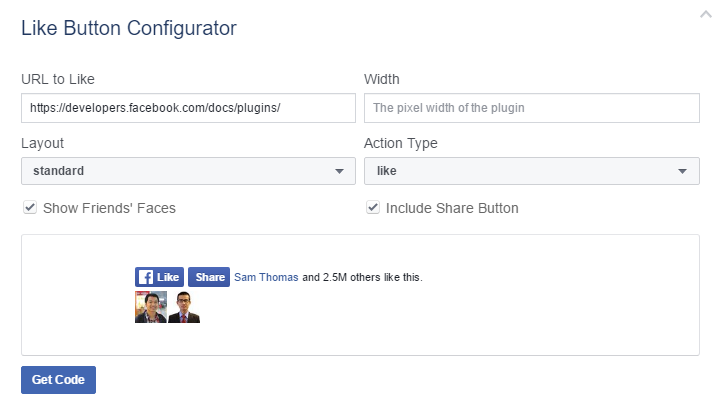 How to Add Social Widget without extension: Facebook Social Plugins
