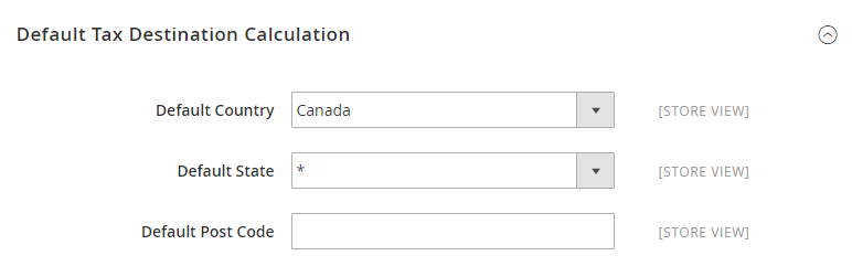 How to Configure Canadian Tax Default Tax Destination Calculation
