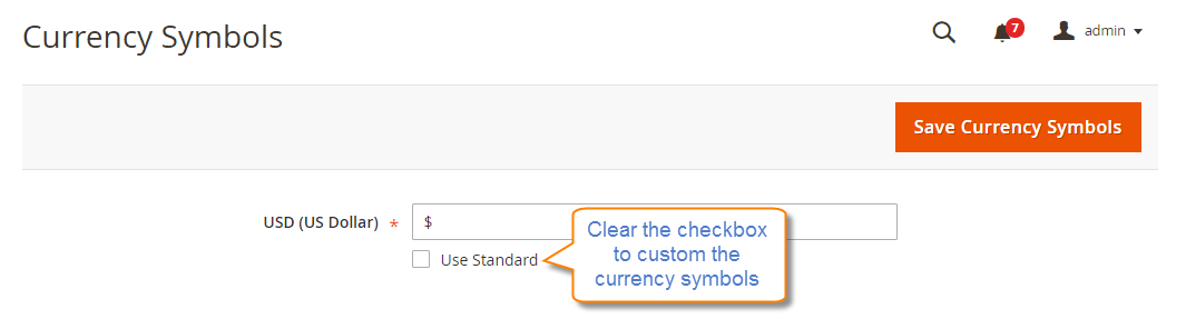 How to Configure Currency Currency Symbols