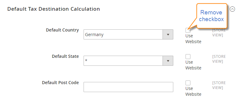 How to Configure EU Tax Default Tax Destination Calculation