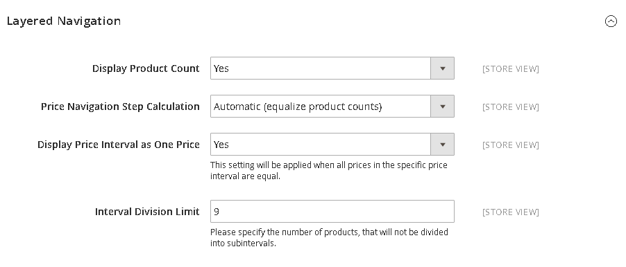 How to Configure Price Filter - Price Navigation Equalize Product Counts