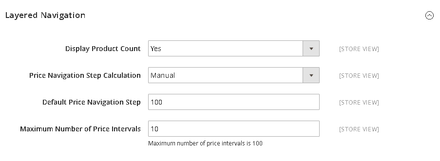 How to Configure Price Filter - Price Navigation Manuals