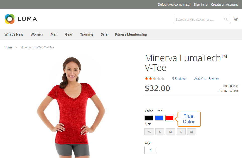 How to configure Color Swatches on Product Page