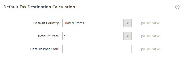 How to Configure US Tax Default Tax Destination Calculation