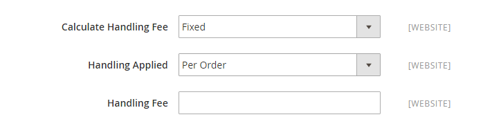 How to Configure USPS Carrier USPS Handling Fee