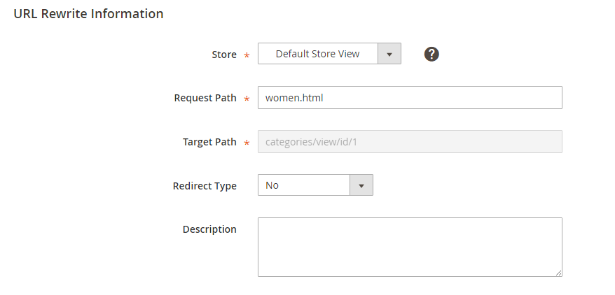 How to Create Category Rewrites Select Categories