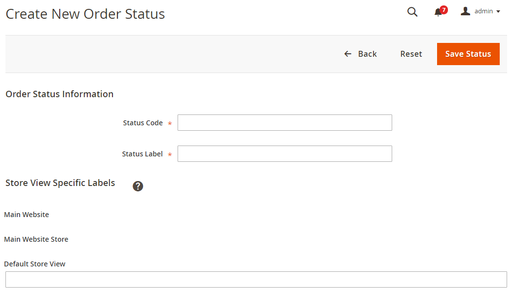 How toCreate Custom Order Status Magento 2
