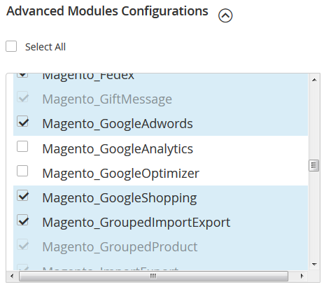 How to install Magento 2 Magento modules configuration