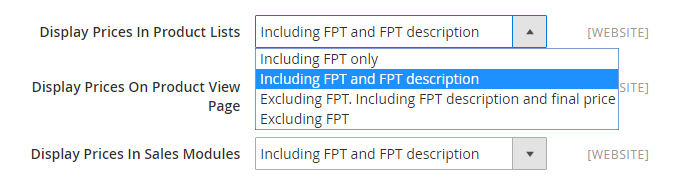 How to Setup Fixed Product Tax FPT Settings