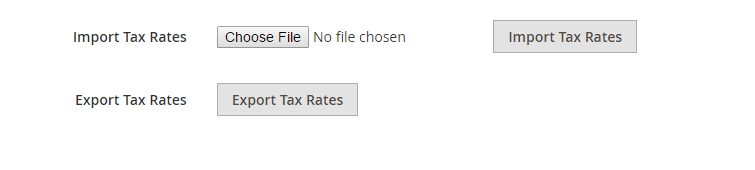 How to Setup Tax Rules Magento 2 Import Export Tax Rate