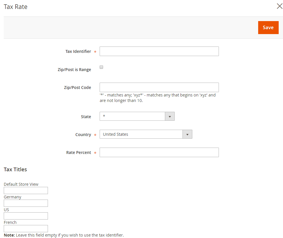 How to Setup Tax Rules Magento 2 Tax Rate Information