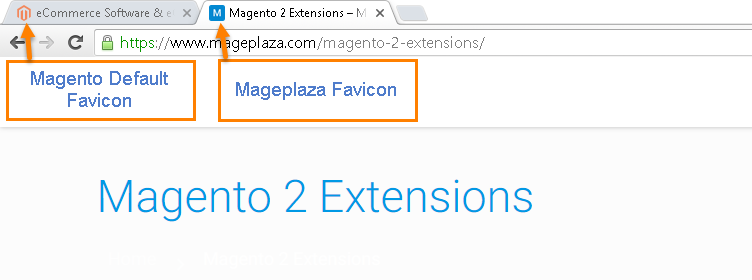 How to Change Favicon Mageplaza Favicon