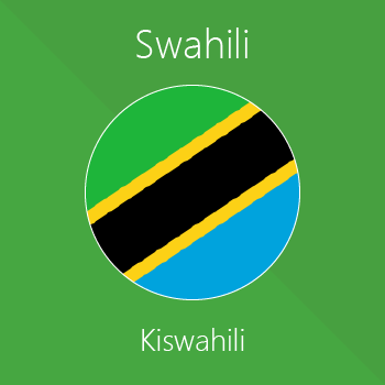 Magento 2 Swahili extension