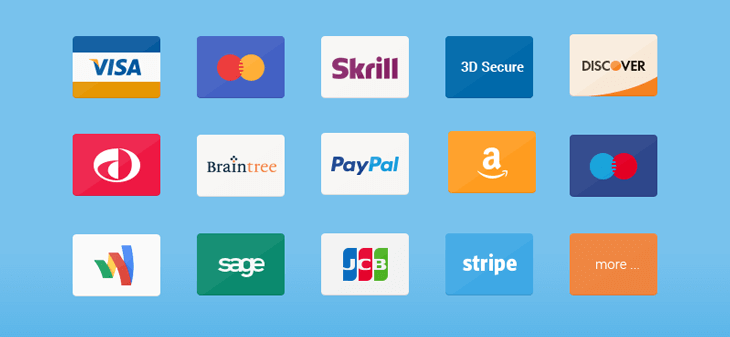 Payment methods are compatible with Magento 2 One Step Checkout extension