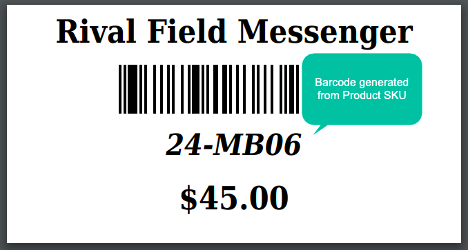 Magento 2 barcode 3 different barcode-generating attributes