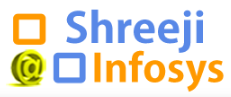shreejiinfosys logo