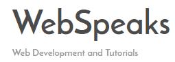 webspeaks logo